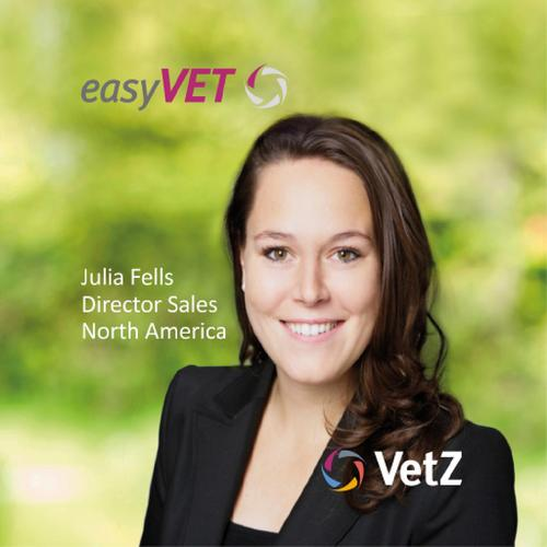 Meet VetZ and Julia Fells: A fresh face on the US market with easyVET – Europe's #1