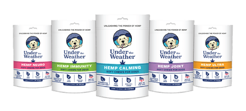 UNDER THE WEATHER TO UNVEIL NEW HEMP-BASED SOFT CHEWS
