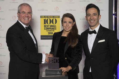 THE SUNDAY TIMES NAMES CLOSERSTILL MEDIA TOP 100 BEST COMPANIES TO WORK FOR 2018